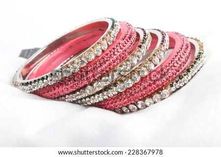 Bangles. Indian Bracelets - stock photo