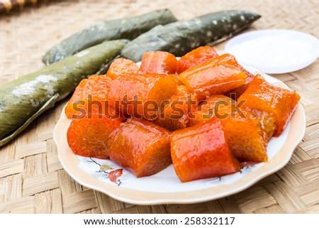 Banh gio, banh tro,vietnamfood,