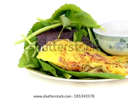 how to make vietnamese pancake crispy