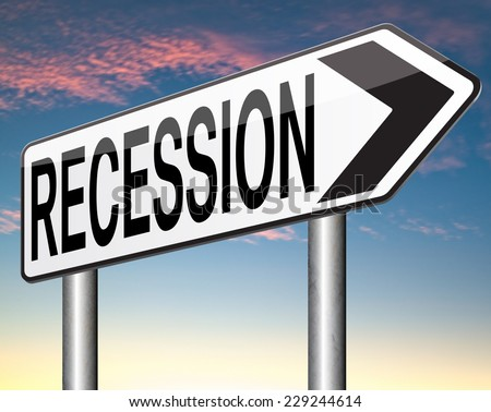 bank recession crisis in economy and stock crash economic and financial bank recession market crash    - stock photo