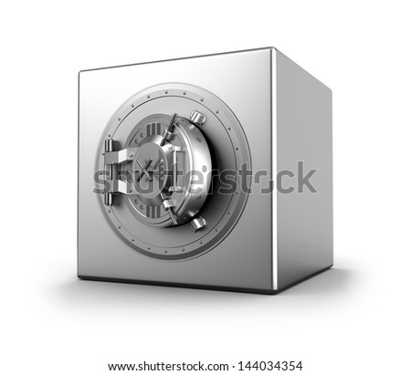 Bank safe - stock photo