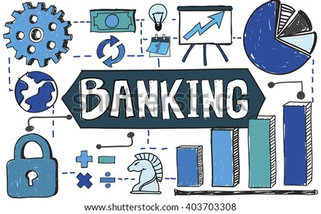 Banking Finance Management Account Funding Concept - stock photo