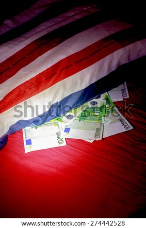 Banknotes of EUR