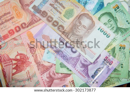 Banknotes texture