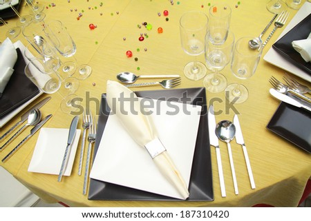 banquet / Catering - stock photo
