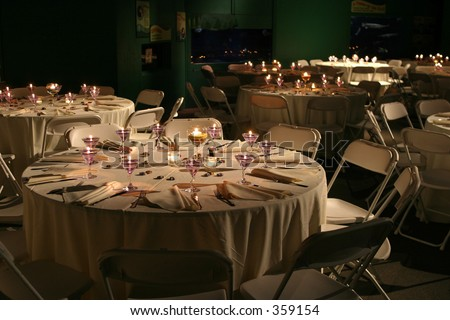 Banquet hall. - stock photo