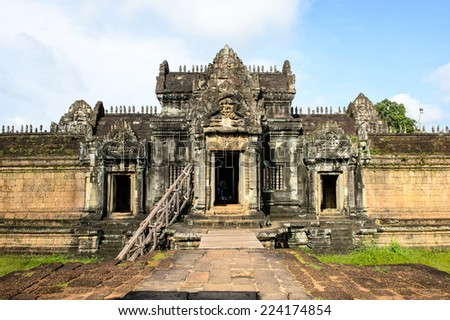 Banteay Samre, a temple at Angkor, Cambodia. It's named after the Samre, an ancient people of Indochina