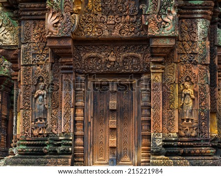 Banteay Srei Temple , angkor.Siem Reap province,Cambodia