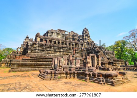 Baphuon temple at Angkor Wat complex, Siem Reap, Cambodia