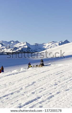BAQUEIRA BERET SPAIN - JANUARY 25: 22th edition Grand Prix Pirena Advance. January 25, 2012 in Baqueira Beret, (Spain)
