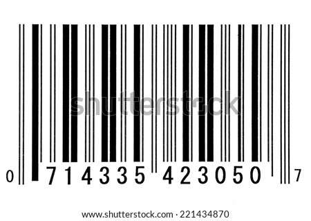 Bar Code/ Financial Industry - stock photo