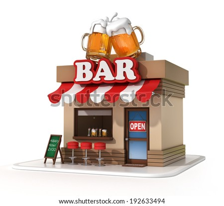 Cartoon Bar Stock Images Royalty Free Images Amp Vectors