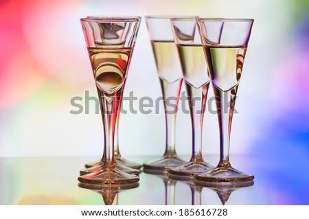Bar Drinks - stock photo