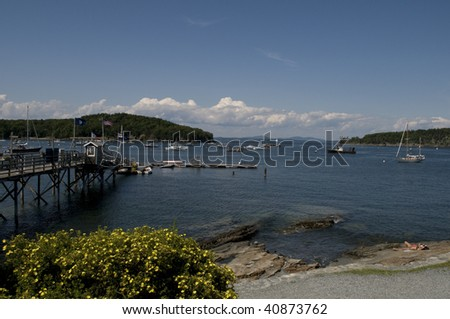 Bar Harbor, Maine - stock photo