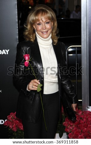 """Barbara Eden at the World Premiere of """"Valentine's Day"""" held at the Grauman's Chinese Theater in Hollywood, USA on February 8, 2010. - stock photo"""