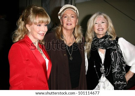 Barbara Eden, Diane Ladd and Connie Stevens at thr Hollywood Walk of Fame's 50th Birthday Bash,  Kodak Theater Grand Ballroom, Hollywood, CA. 11-03-10
