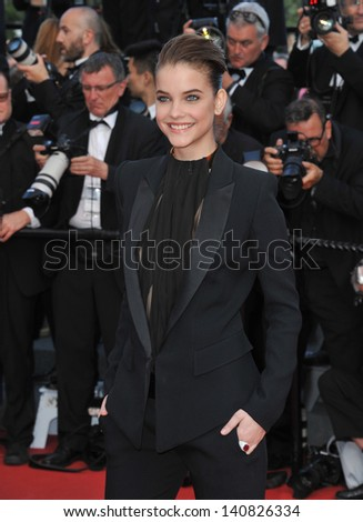 "Barbara Palvin at gala premiere for ""Behind the Candelabra"" at the 66th Festival de Cannes. May 21, 2013  Cannes, France"