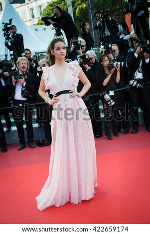 Barbara Palvin  attends the 'Julieta' premiere at the 69th Festival de Cannes. May 17, 2016  Cannes, France