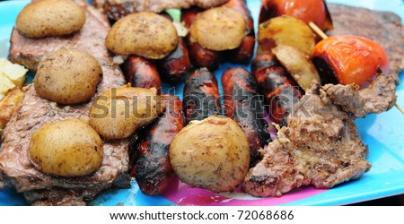 Barbecue. - stock photo