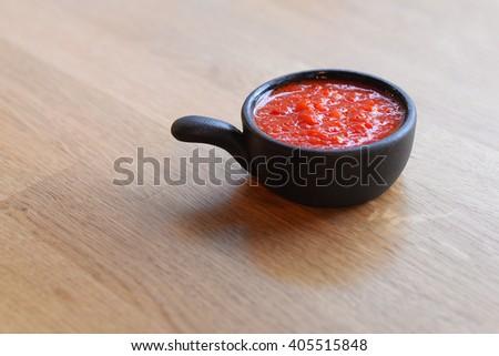 Barbecue sauce - stock photo