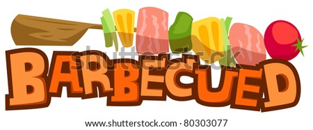 Barbecued - stock photo