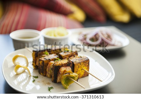 Barbecued Cottage Cheese