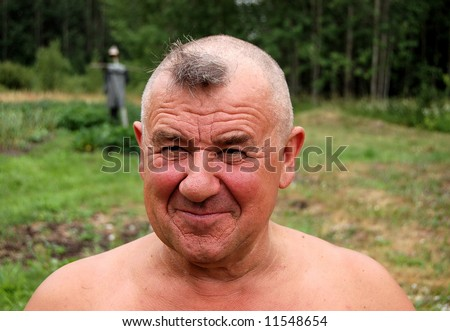 Barbering men - stock photo