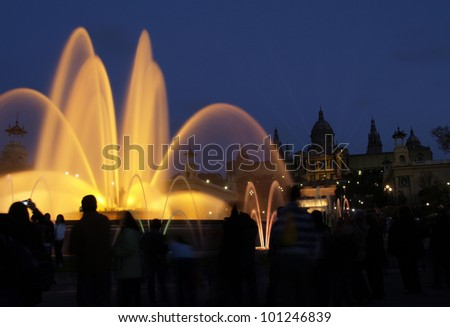 Barcelona Magic Fountain