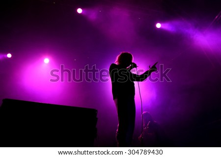 BARCELONA - MAY 29: Ariel Pink (music artist) in concert at Primavera Sound 2015 Festival on May 29, 2015 in Barcelona, Spain.