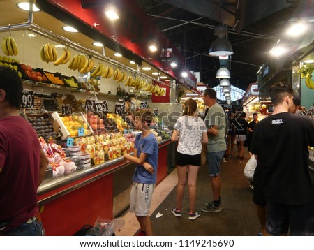 stock-photo-barcelona-spain-july-la-boqu