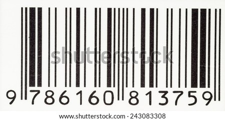 Barcode close-up