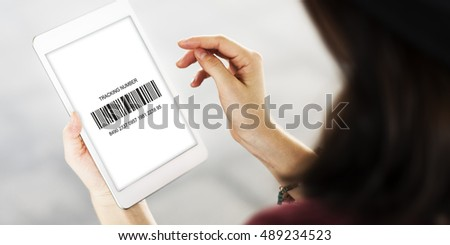 Barcode Label Merchandise Information Concept