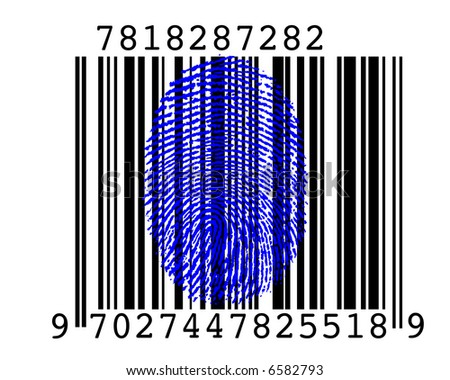 Barcode with Fingerprint