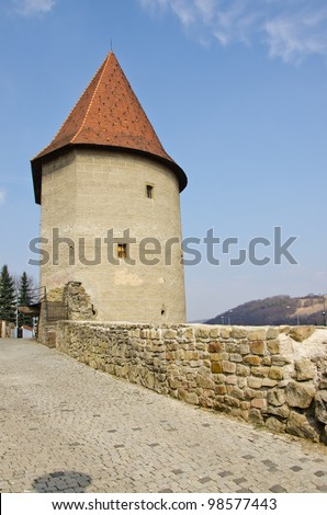 Bardejov, Slovakia - defensive walls and tower