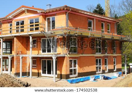 Bare brickwork - stock photo