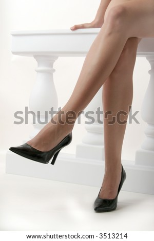 woman legs crossed stock images royaltyfree images