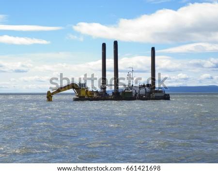 barge tug stock images royaltyfree images amp vectors
