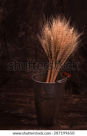 Barley rice - stock photo