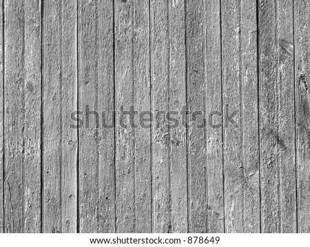 BARN BOARDS IN BLACK AND WHITE - stock photo