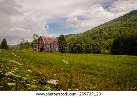 Barn in the countryside