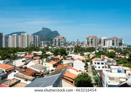 Barra da Tijuca - the South Zone and Downtown of the city of Rio de Janeiro, Olimpic Game 2016 neighborhood, Brazil