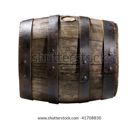 barrel - stock photo