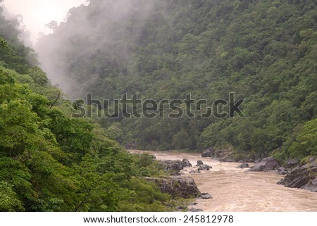 Barron Gorge, Cairns, Queensland, Australia - stock photo