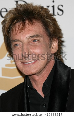 Barry Manilow at the Clive Davis Pre-Grammy Awards Party, Beverly Hilton Hotel, Beverly Hills, CA. 02-12-11