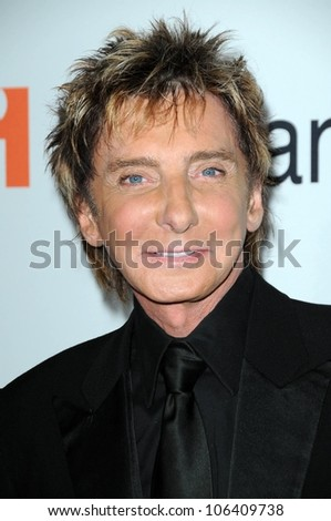 Barry Manilow at the Salute To Icons Clive Davis Pre-Grammy Gala. Beverly Hilton Hotel, Beverly Hills, CA. 02-07-09