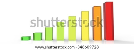 Bars and charts 03 - stock photo