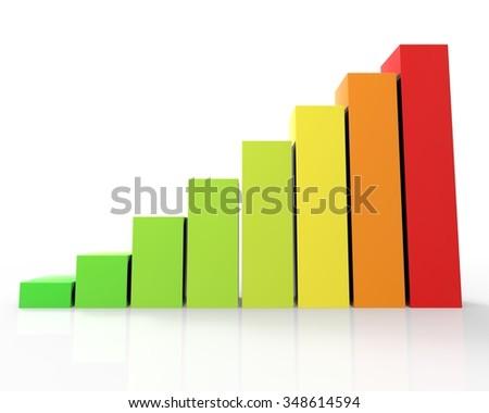Bars and charts 01 - stock photo