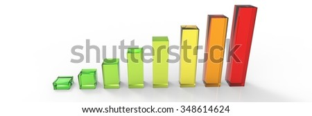 Bars and charts 05 - stock photo