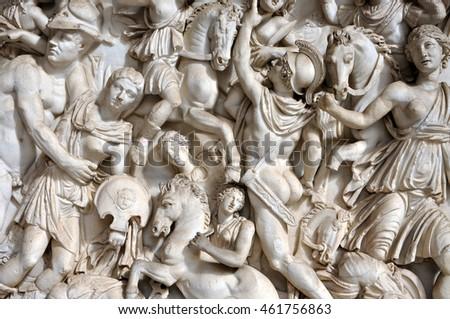 Roman Sculptures Of Gods