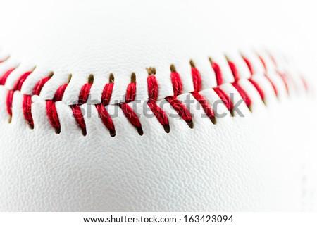 Baseball ball particular - stock photo
